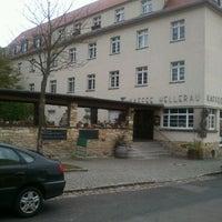 Photo taken at Gasthaus Hellerau by Thomas on 10/29/2013