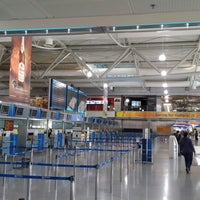 Photo taken at Athens International Airport Eleftherios Venizelos (ATH) by Юрик К. on 5/14/2013