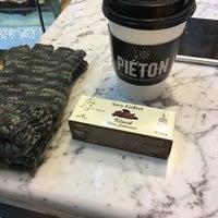 11/29/2016 tarihinde Asena P.ziyaretçi tarafından Piéton Coffee'de çekilen fotoğraf