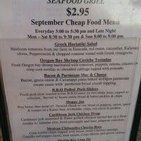 Foto tomada en Seasons & Regions Seafood Grill por Grendel2 el 9/15/2012
