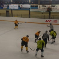 Photo taken at Talsu hokeja klubs (Talsi Ice Hockey club) by Ilze on 12/28/2014