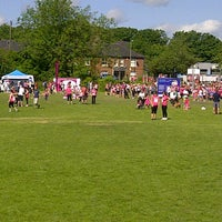 Photo taken at Race For Life by Clive C. on 6/8/2014