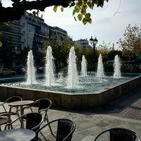 Photo taken at Mavili Square by Giorgos B. on 12/21/2012