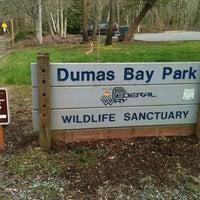 Photo taken at Dumas Bay Wildlife Sanctuary by Roberto E. on 2/27/2013