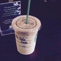 Photo taken at Starbucks by della a. on 10/17/2014