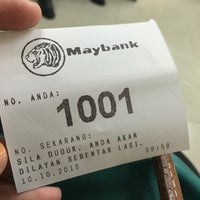 Photo taken at Maybank Taman Cheras Makmur by Ainaa N. on 10/10/2016