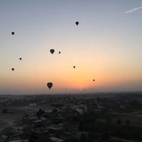 Photo taken at Luxor Balloon by Ralph Z. on 4/25/2016