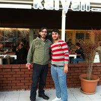 Photo taken at Kalyan Nargile Cafe by Oktay T. on 1/23/2013