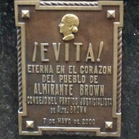 Photo taken at Mausoleo de Eva Perón by Shah A. on 5/3/2013