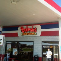 Photo taken at Bojangles' Famous Chicken 'n Biscuits by Preston B. on 10/25/2012
