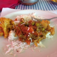 Photo taken at India House Restaurant by Joe W. on 10/1/2013