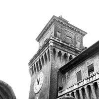 Photo taken at Castello Estense by Vinicius R. on 11/4/2012