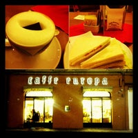 Photo taken at Caffè Europa by Vinicius R. on 11/21/2012