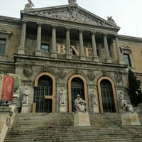 Photo taken at Biblioteca Nacional de España by julia on 12/15/2012