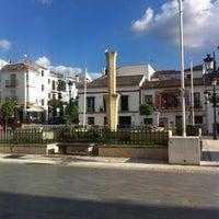 Photo taken at Plaza de la Constitución by Francisco Javier C. on 4/21/2013