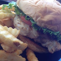 Photo taken at Zaxby's Chicken Fingers & Buffalo Wings by Jessica on 7/30/2014
