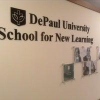 Photo taken at DePaul University - School for New Learning by Kristine K. on 11/20/2013