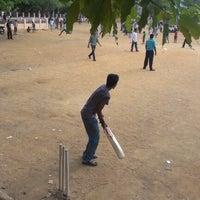 Photo taken at Trustpuram Cricket Ground by Sanjeevan S. on 10/19/2012
