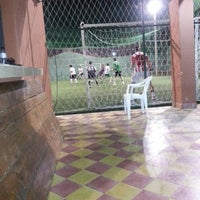 Photo taken at Los Amigos del Futbol by Alvaro A. on 10/22/2013