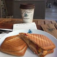Photo taken at Caribou Coffee by Nazlı A. on 10/7/2014