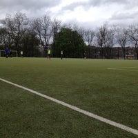 Photo taken at Football Pitch Kelvingrove by Jan D. on 5/9/2013