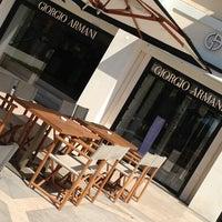 Photo taken at Armani Caffè by Panda on 8/15/2013
