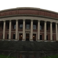Photo taken at Widener Library by Linxie T. on 9/29/2012