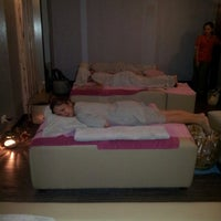Photo taken at Mandarine Reflexology & Spa by ayah S. on 3/22/2014