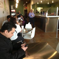 Photo taken at The Healthy Pizza Company by Jonathan M. on 2/8/2013
