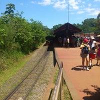 Foto tomada en Estación Cataratas [Tren Ecológico de la Selva] por Facundo L. el 11/20/2012