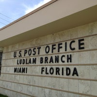 Photo taken at US Post Office - Bird Road by Robertson A. on 7/6/2013