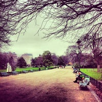 Photo taken at Parc Monceau by Alexandre J. on 1/6/2013