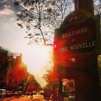 Photo taken at Boulevard de Bonne Nouvelle by Alexandre J. on 5/7/2013