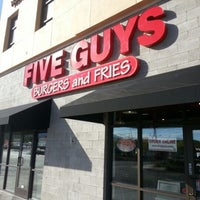 Photo taken at Five Guys by Ahdi A. on 10/9/2012