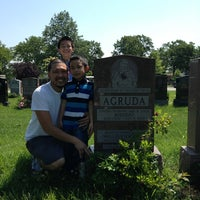 Photo taken at Mount St. Mary Cemetery by Tina A. on 8/1/2013