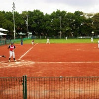 Photo taken at Lapangan Softball / Baseball Lodaya by Jefriando C. on 5/26/2016