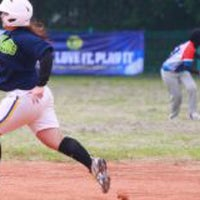 Photo taken at Lapangan Softball / Baseball Lodaya by Jefriando C. on 3/11/2016