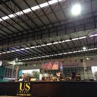 Photo taken at Sing Buri Stadium by Praew M. on 6/14/2014