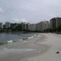 Photo taken at Praia das Flexas by Carlos M. on 3/30/2013