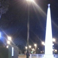 Photo taken at Plaza Belgrano by Miguel E. on 10/27/2012