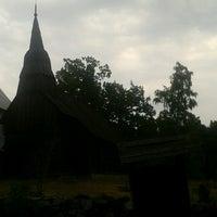 Photo taken at Ruhnu Püha Magdaleena kirik by Terje L. on 7/30/2013