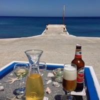 Photo taken at Chrissi Akti / Golden Beach by Achim S. on 5/15/2014