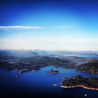 Photo taken at Bergen Lufthavn, Flesland (BGO) by Marc on 5/24/2013