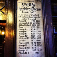 Photo taken at Ye Olde Cheshire Cheese by Marc on 5/10/2013