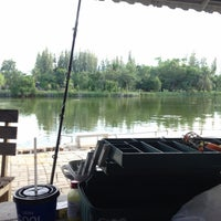 Photo taken at Cha-am Fishing Park by Doraeon Z. on 7/31/2016