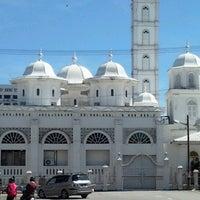Photo taken at Masjid Abidin (Masjid Putih) by Khorish M. on 12/7/2012