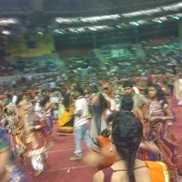 Photo taken at Indoor Stadium by Nabeel P. on 10/21/2012