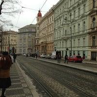 Photo taken at Hlavní nádraží (tram) by Okura K. on 2/14/2013