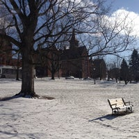 Photo taken at UVM Green by Harjit on 1/23/2013