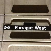 Photo taken at Farragut West Metro Station by Harjit on 4/21/2013